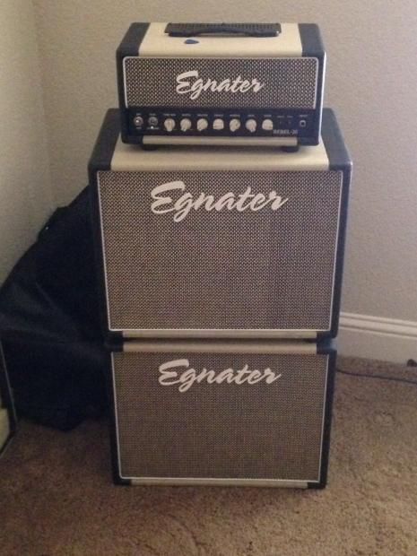 Egnater Rebel 20 Egnater Rebel 20 Head And Two