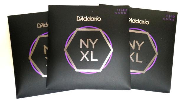 3 Sets of D'Addario NYXL 1149   Electric Guitar Strings ...