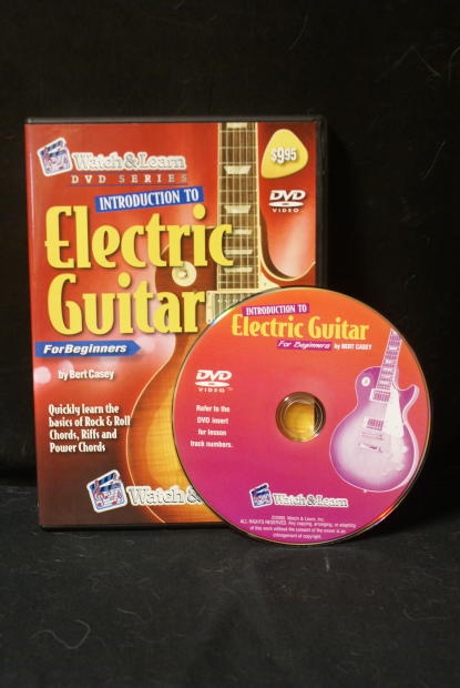 watch learn introduction to electric guitar dvd for absolute beginner instruction reverb. Black Bedroom Furniture Sets. Home Design Ideas