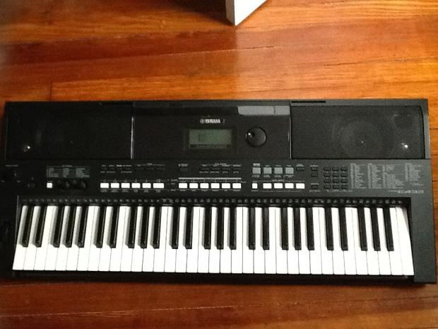 yamaha psr e433 reverb. Black Bedroom Furniture Sets. Home Design Ideas