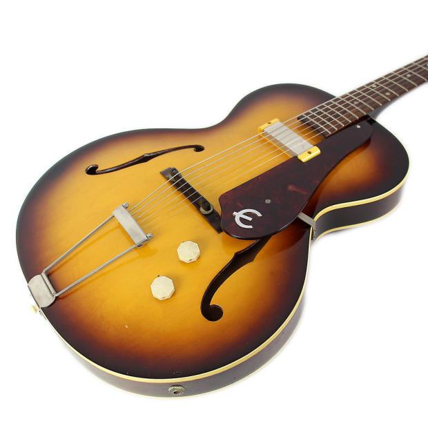1959 epiphone e422t century hollow body electric guitar in sunburst reverb. Black Bedroom Furniture Sets. Home Design Ideas