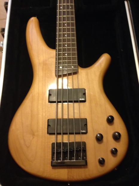 Ibanez Bass 5 String Sdgr : beautiful ibanez soundgear sdgr sr405 5 string bass guitar with a hardshell case reverb ~ Russianpoet.info Haus und Dekorationen