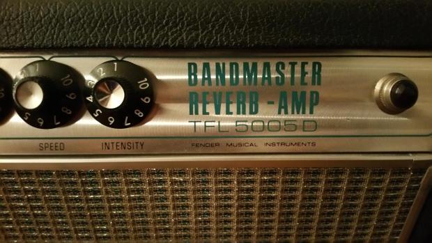 Fender Bandmaster Amp Head Fender Bandmaster Reverb Amp