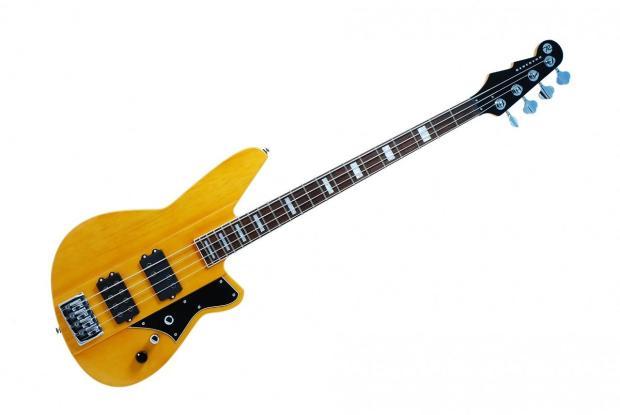 reverend guitars thundergun bass vintage clear brand new reverb. Black Bedroom Furniture Sets. Home Design Ideas