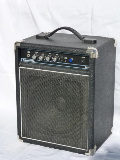 acoustic b10 electric bass amplifier reverb. Black Bedroom Furniture Sets. Home Design Ideas