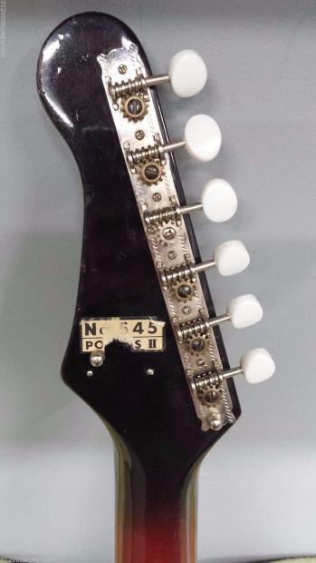 1960 39 s kent polaris ii electric guitar vintage made in japan short scale reverb. Black Bedroom Furniture Sets. Home Design Ideas