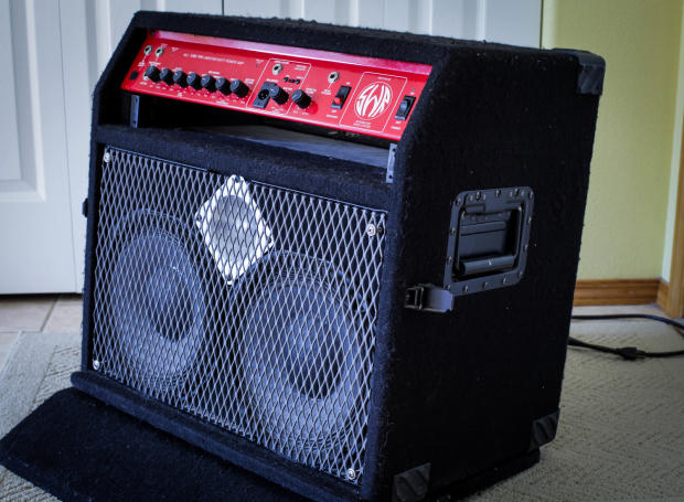 For the swr redhead bass amp can