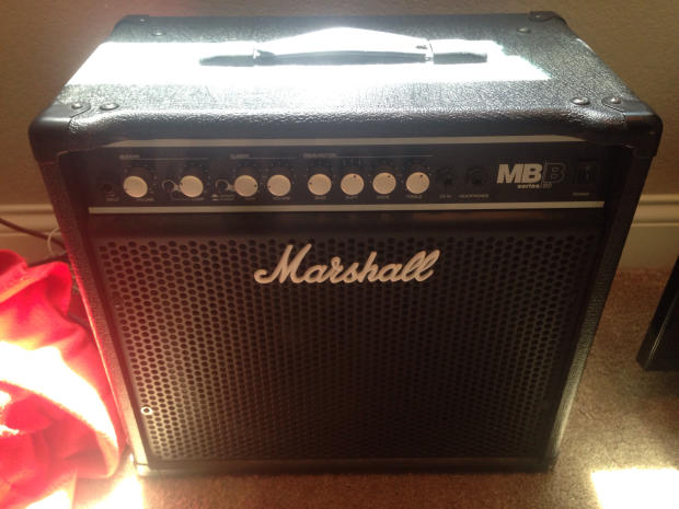 marshall mb b30 bass combo amp solid state reverb. Black Bedroom Furniture Sets. Home Design Ideas