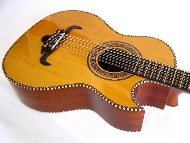 Oscar Schmidt Bajo Sexto Guitar | Reverb