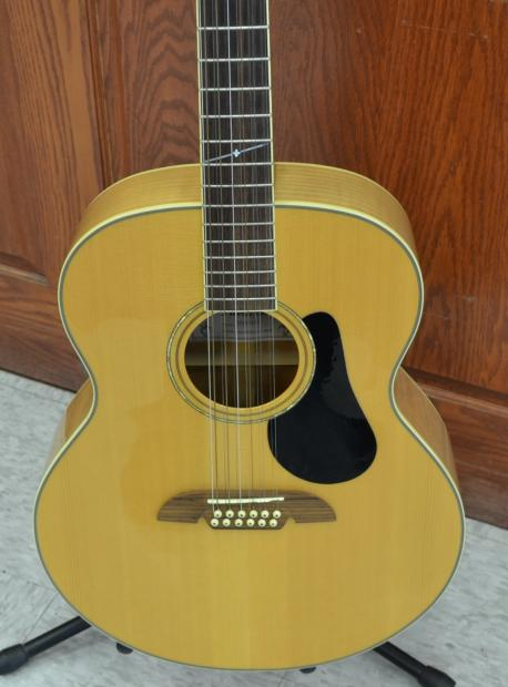 Alvarez Auto Sales >> Alvarez AJ60S12 Artist Series Jumbo 12-String Acoustic Guitar NICE | Reverb