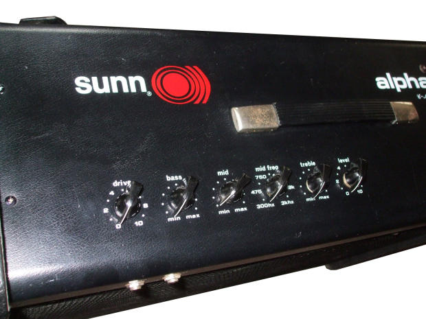 sunn alpha 115 vintage amplifier electric guitar bass amp beta lead model t tone 150 watts loud. Black Bedroom Furniture Sets. Home Design Ideas