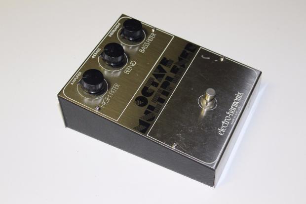 rare 1977 vintage electro harmonix ehx octave multiplexer guitar fx pedal reverb. Black Bedroom Furniture Sets. Home Design Ideas