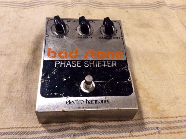 vintage electro harmonix bad stone phase shifter guitar effect pedal circa 1979 reverb. Black Bedroom Furniture Sets. Home Design Ideas