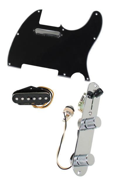 fender tele telecaster loaded pre wired pickguard texas special pickups bk image. Black Bedroom Furniture Sets. Home Design Ideas