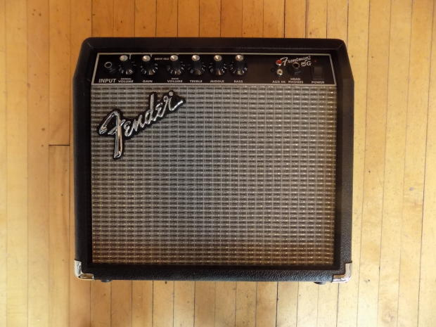 fender frontman 15g guitar combo amp 15 watt reverb. Black Bedroom Furniture Sets. Home Design Ideas