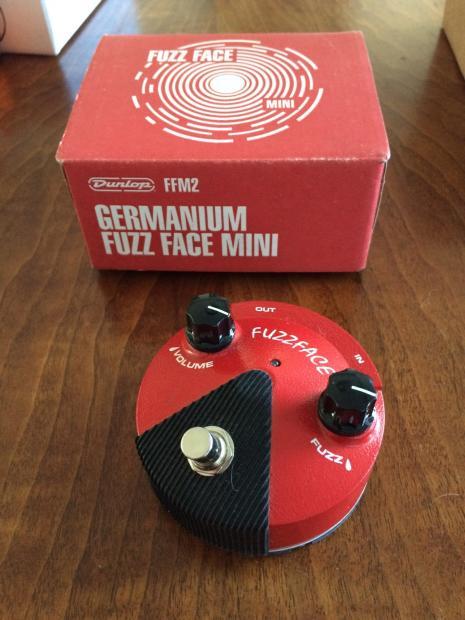 Germanium Fuzz Face : dunlop ffm2 germanium fuzz face mini effects pedal 2015 red reverb ~ Vivirlamusica.com Haus und Dekorationen