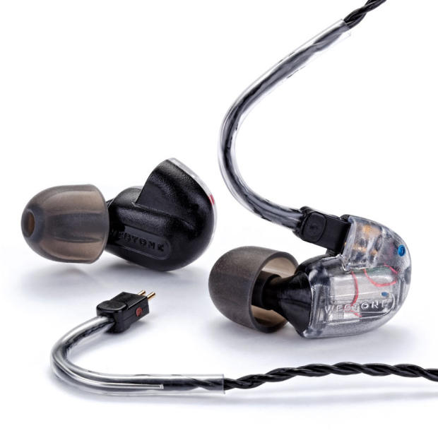 westone um3x 2015 clear 3 way balanced armature in ear monitors with removable cable reverb. Black Bedroom Furniture Sets. Home Design Ideas