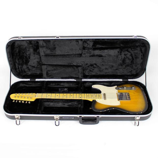 nash t 12 12 string solid body electric guitar in two tone sunburst reverb. Black Bedroom Furniture Sets. Home Design Ideas