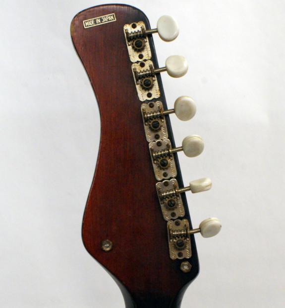 vintage 60 39 s douglas japanese electric guitar with 3 pickups lots of chrome reverb. Black Bedroom Furniture Sets. Home Design Ideas