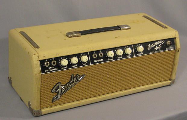 1963 fender blonde bassman amp head model 6g6 b reverb. Black Bedroom Furniture Sets. Home Design Ideas