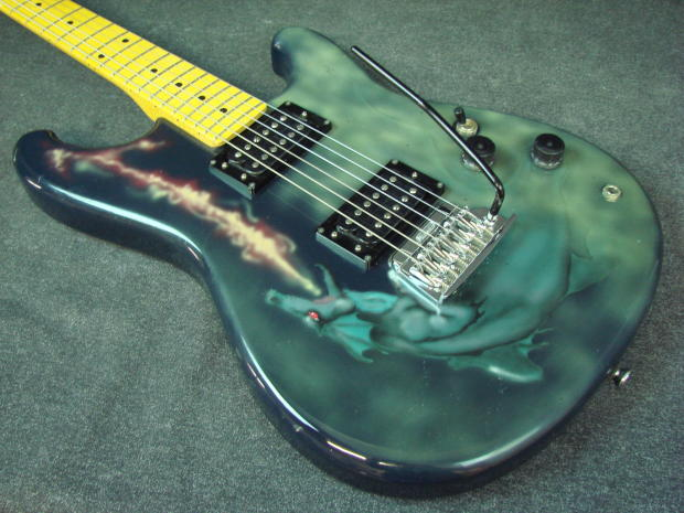 1983 Ibanez Roadstar II RS HH Custom Paint Job Electric ...