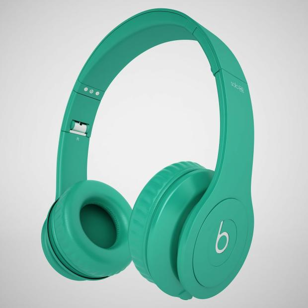 BEATS by Dr Dre SOLO HD HEADPHONES DRENCHED MATTE TEAL ...