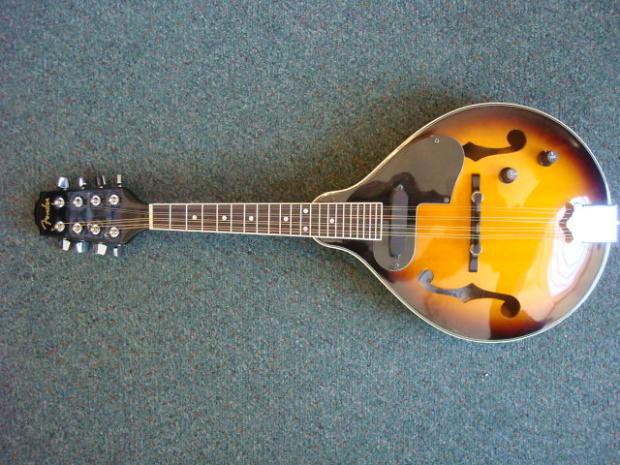 Fender Mandolin fm 52e Fender fm 52e sb Elec Acoustic