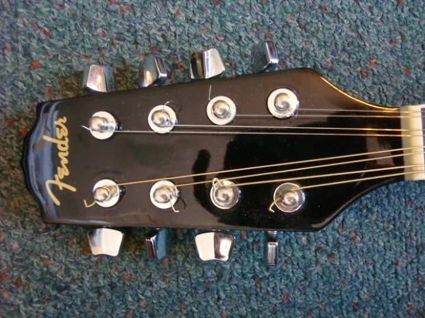 Fender Mandolin fm 52e Fender fm 52e sb