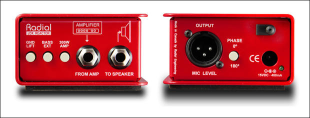 new radial jdx 48 phantom powered guitar amp di w speaker emulation and reactive load direct. Black Bedroom Furniture Sets. Home Design Ideas
