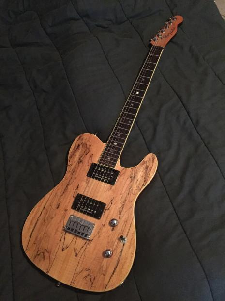 Fender Spalted Maple Tele Fender Spalted Maple