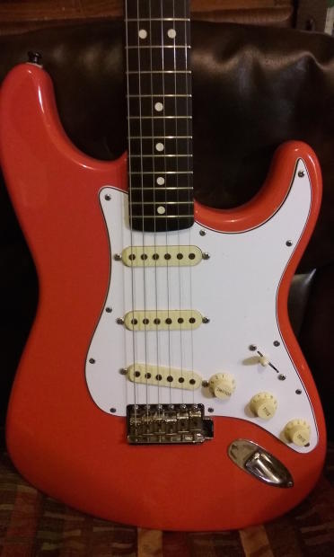 Fender Stratocaster Mexican 1995 50th Anniversary Fiesta