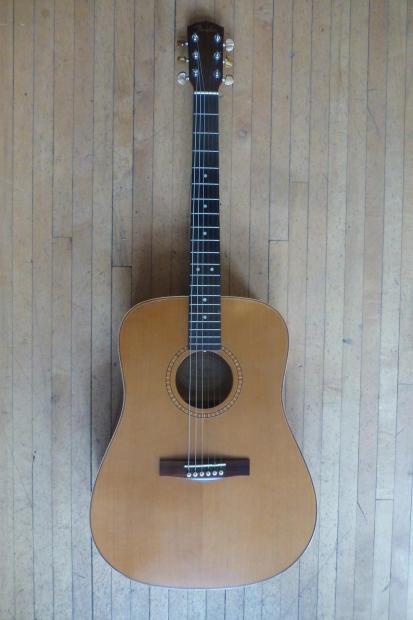 fender dg25s solid cedar top acoustic guitar w case. Black Bedroom Furniture Sets. Home Design Ideas