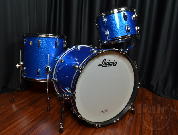 Classic Drums Ludwig Ludwig Usa Classic Maple Blue