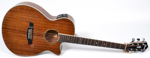 ibanez aeg12ii nt acoustic electric guitar natural reverb. Black Bedroom Furniture Sets. Home Design Ideas