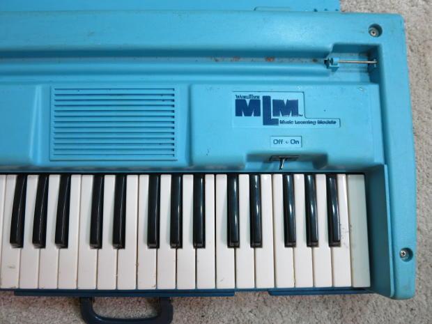 Last 1 vintage 1960s wurlitzer learning module organ for Classic house organ sound
