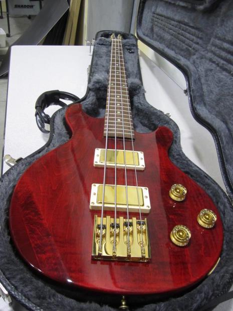 2006 Gibson Les Paul Double Cut Bass W Ohsc Reverb