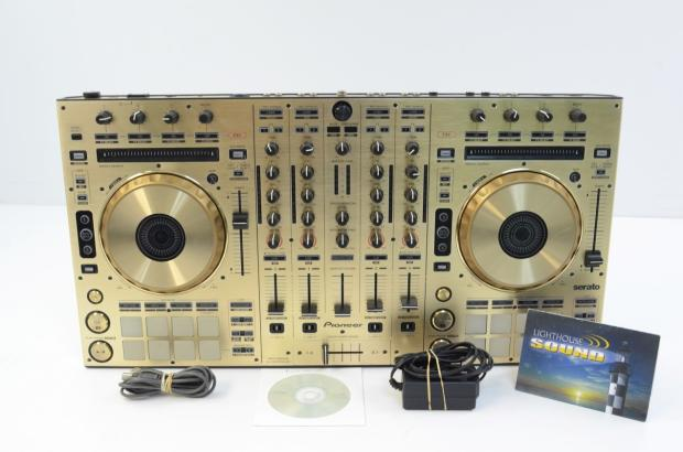 Pioneer ddj sx dj controller limited edition gold reverb