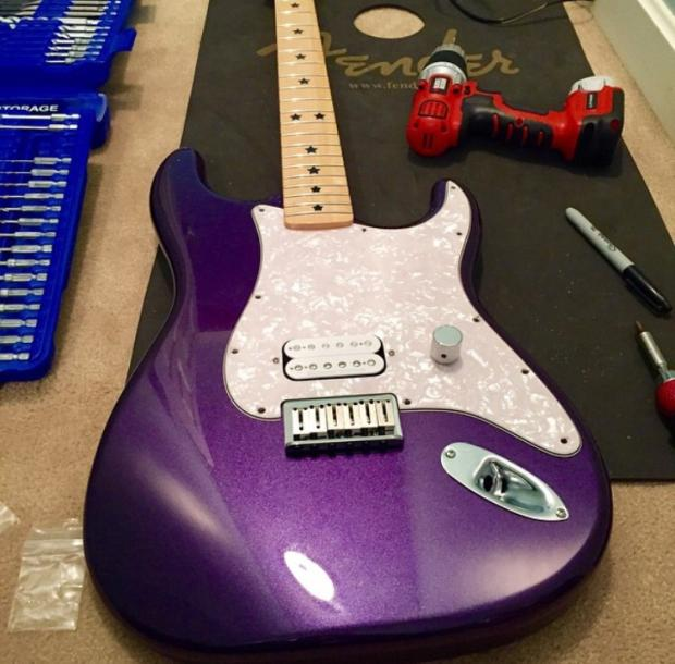 Warmoth Stratocaster Custom Image