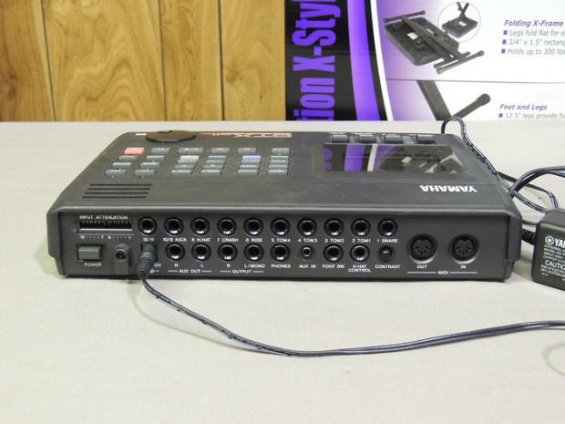 yamaha dtx version 2 0 drum trigger module reverb