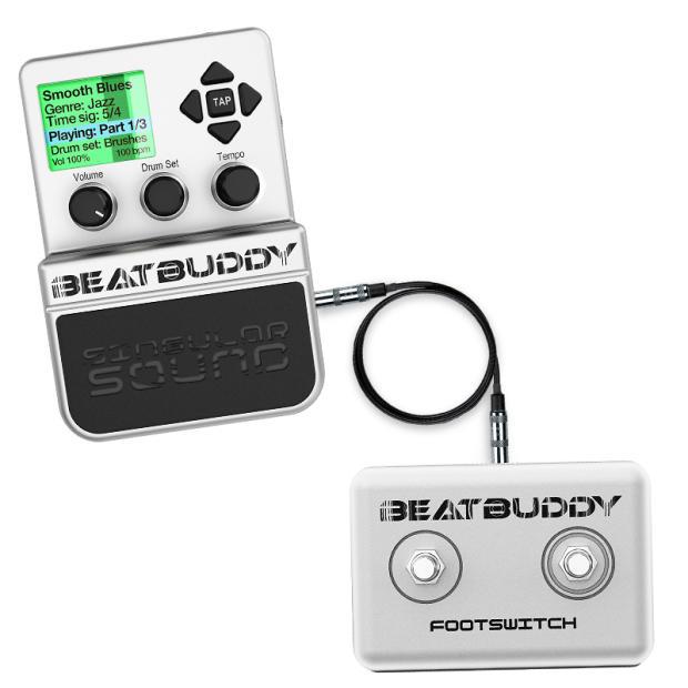 beatbuddy drum machine w foot switch midi sync cable euro plug reverb. Black Bedroom Furniture Sets. Home Design Ideas
