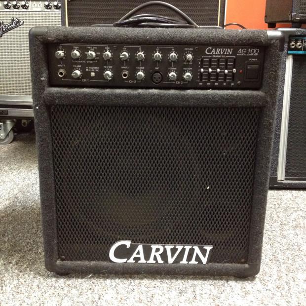 carvin ag100 acoustic guitar combo amp reverb. Black Bedroom Furniture Sets. Home Design Ideas