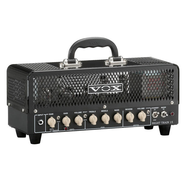 vox night train nt15h g2 15 watt tube guitar amplifier head reverb. Black Bedroom Furniture Sets. Home Design Ideas