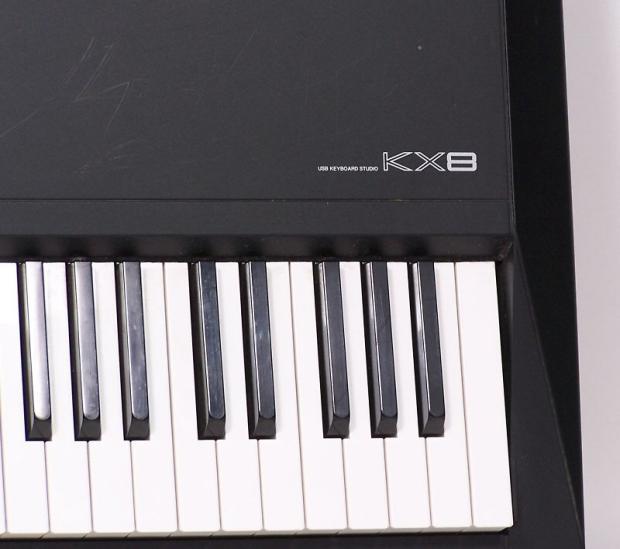 Yamaha kx8 usb keyboard studio 88 weighted key midi for Yamaha midi controller keyboard