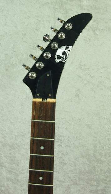 epiphone demon v electric guitar body for parts project reverb. Black Bedroom Furniture Sets. Home Design Ideas