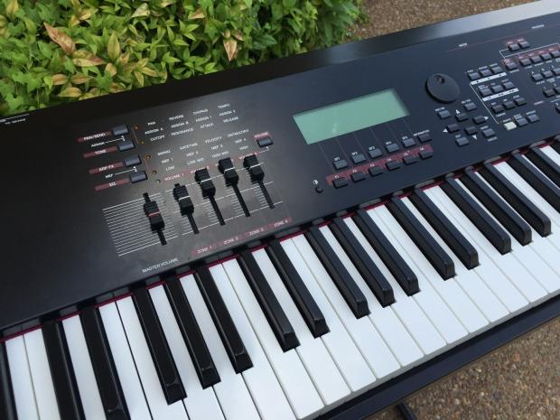 Yamaha s90 es 88 key weighted keyboard synth near mint reverb for Yamaha fully weighted keyboard