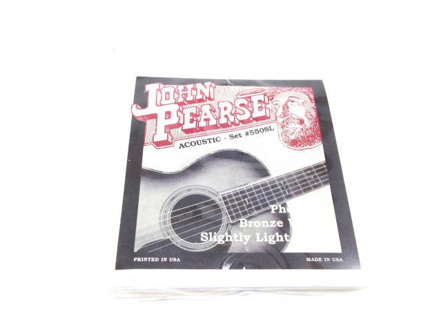 john pearse guitar strings acoustic slightly light gauge. Black Bedroom Furniture Sets. Home Design Ideas