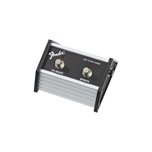 fender 2 button footswitch for fm 65 dsp super champ xd champion 40 champion 100 reverb