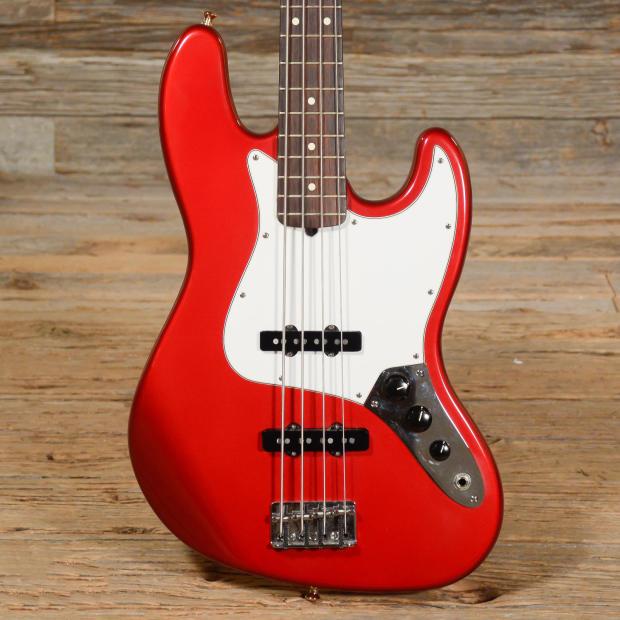 fender american standard jazz bass red 1996 s226 reverb. Black Bedroom Furniture Sets. Home Design Ideas