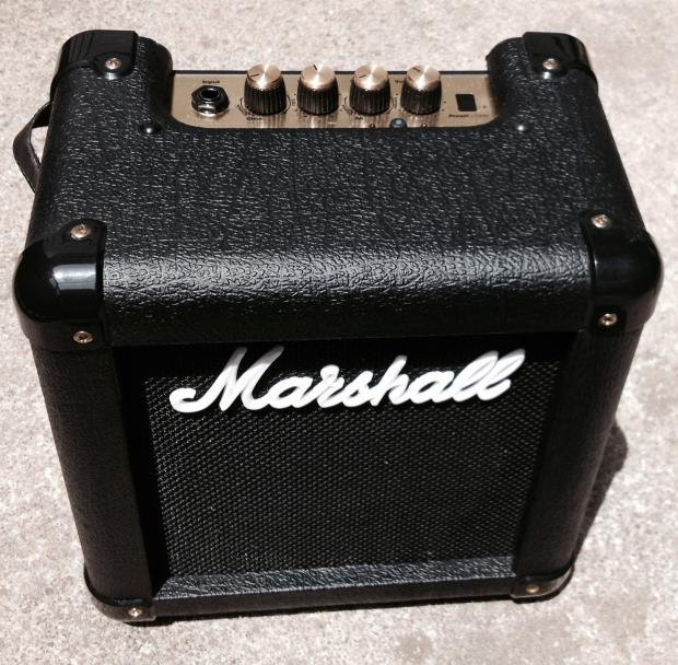 marshall mg2fx 2w a c or battery powered practice guitar amp reverb. Black Bedroom Furniture Sets. Home Design Ideas