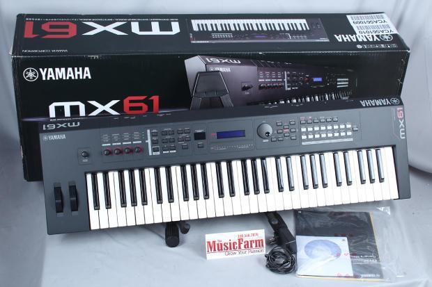 Yamaha mx61 61 key motif music synthesizer controller for Yamaha digital piano controller